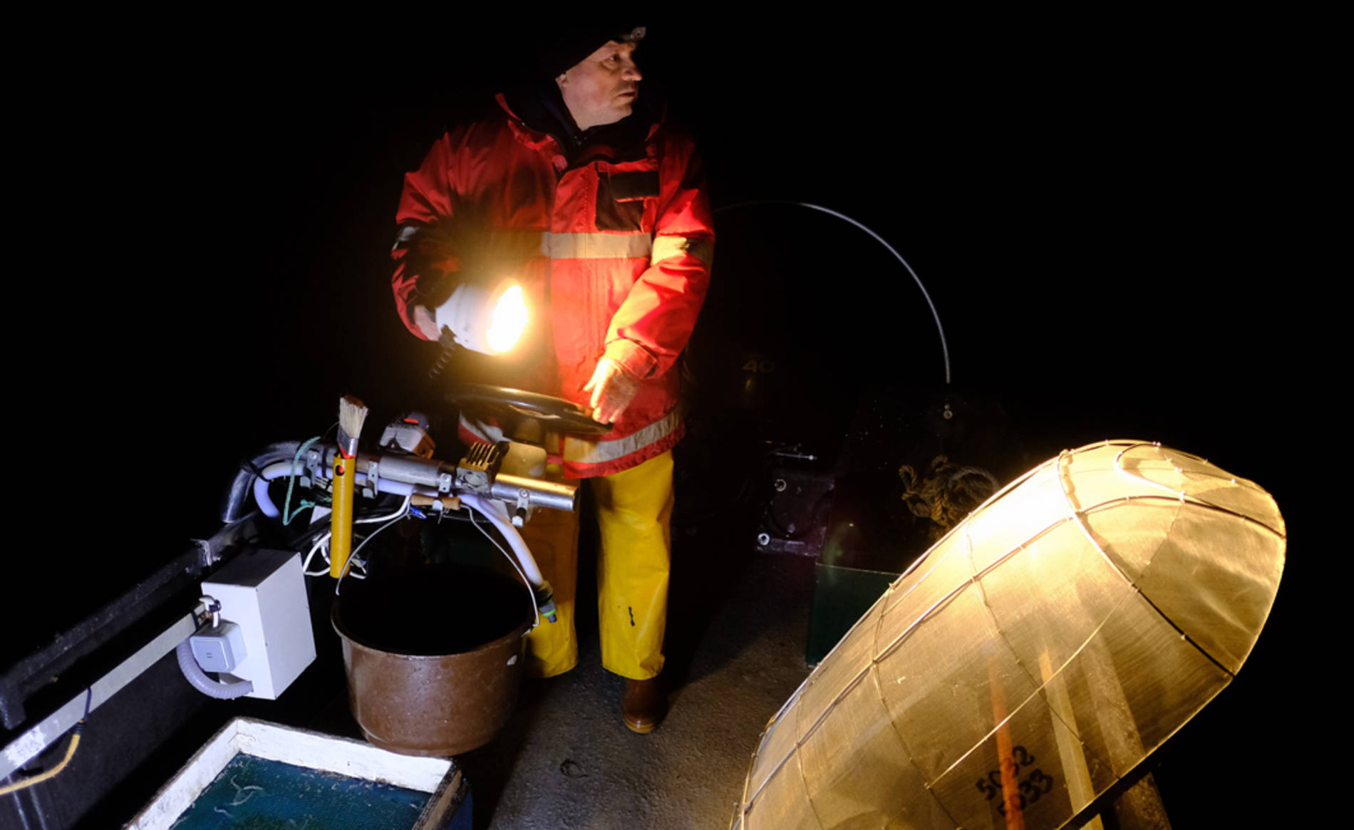 Pesca tradicional de angula