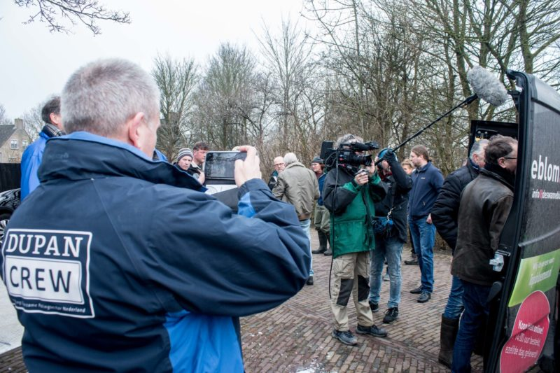 Repoblación de angulas en Holanda