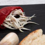 Pimiento relleno de angulas
