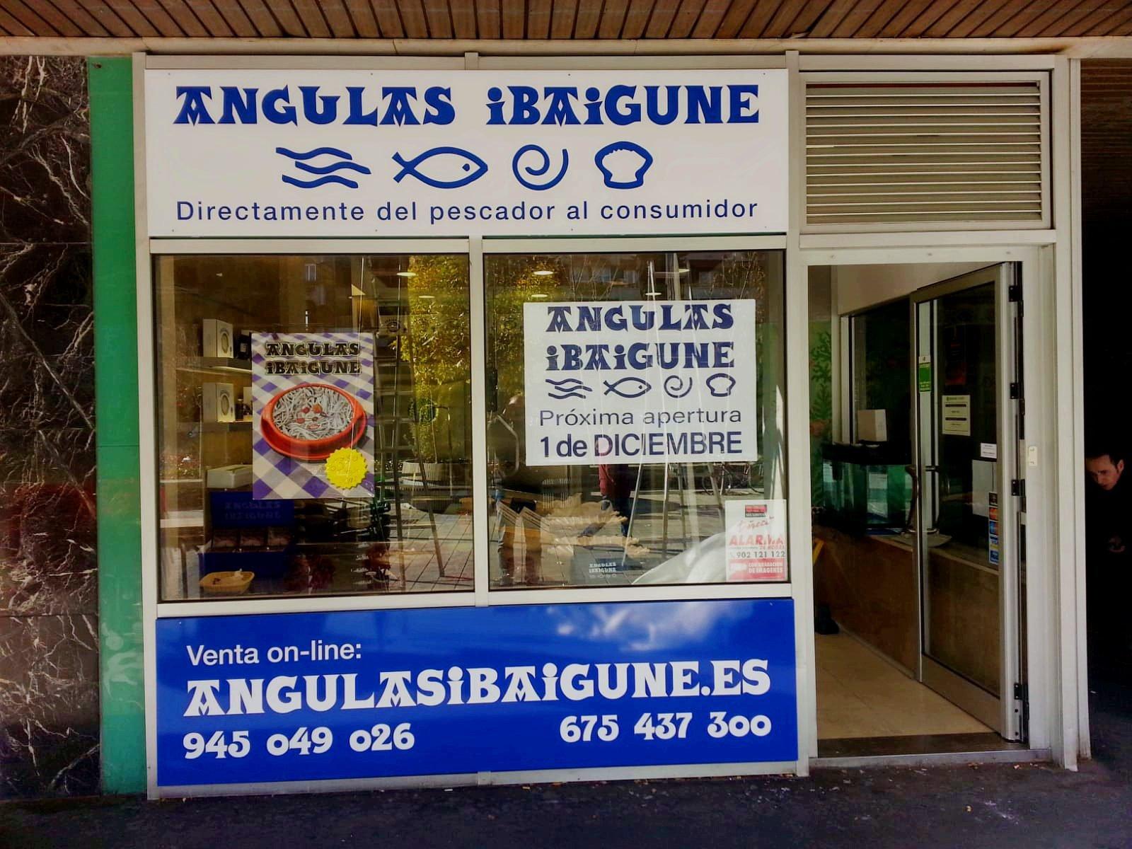 Angulas en Vitoria Ibaigune
