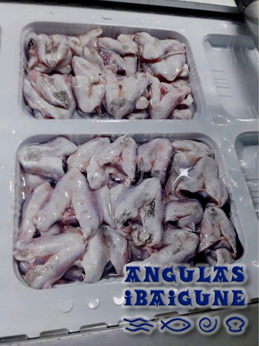 Kokotxa de Merluza tamaño medio del puerto de Pasajes, Congelada en criogenía, 250 gramos.